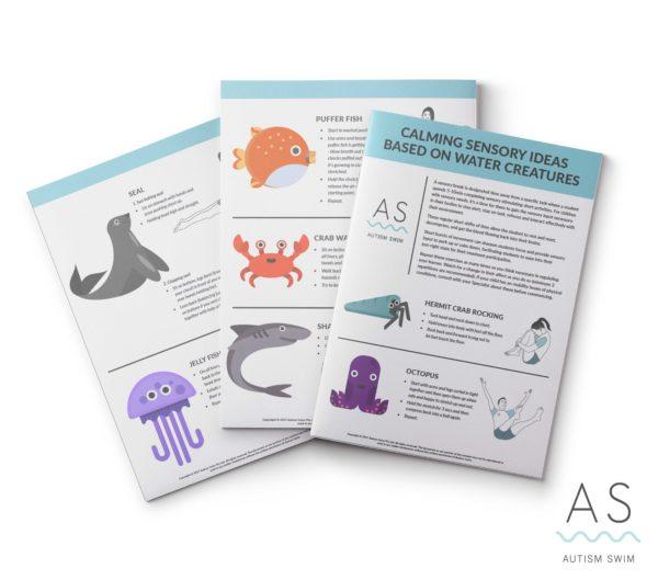 Sensory Activities (water creatures) - Autism Swim